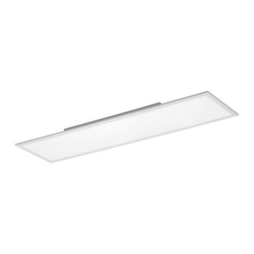 LED-PANEEL - Weiß, Design, Metall (120/30/6cm) - Novel