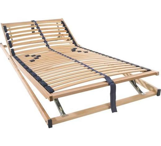 ROŠT, 90/200 cm,  - barvy buku/barvy břízy, Basics, dřevo/umělá hmota (90/200cm) - Sleeptex