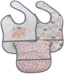 LÄTZCHEN 3-teilig  - Pink/Weiß, Basics, Textil (28/40cm) - My Baby Lou