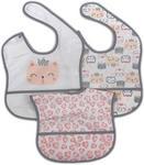 LÄTZCHEN - Pink/Weiß, Basics, Textil (28/40cm) - My Baby Lou