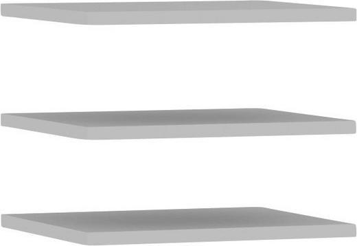 EINLEGEBODENSET Grau - Grau, Design (47,8/42/2,2cm) - Carryhome