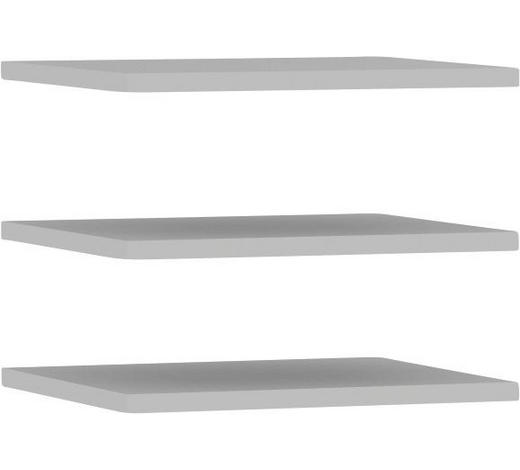 EINLEGEBODENSET Grau  - Grau, Design (107,8/42/2,2cm) - Carryhome