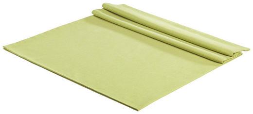 TISCHDECKE Textil Leinwand, Struktur Grün 150/250 cm - Grün, Basics, Textil (150/250cm) - Novel