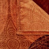 WOHNDECKE 150/200 cm - Rot/Orange, LIFESTYLE, Textil (150/200cm) - Esposa