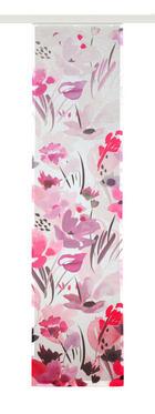 PANEL ZAVJESA - pink, Moderno, tekstil (60/245cm) - Esposa