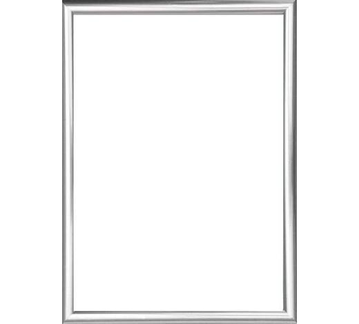 BILDERRAHMEN in Silberfarben - Silberfarben, Basics, Glas/Kunststoff (72/52/2cm)