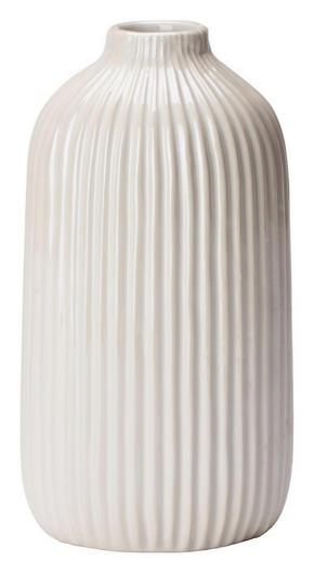 VAS - vit, Design, keramik (8,6/16,5cm) - Ambia Home