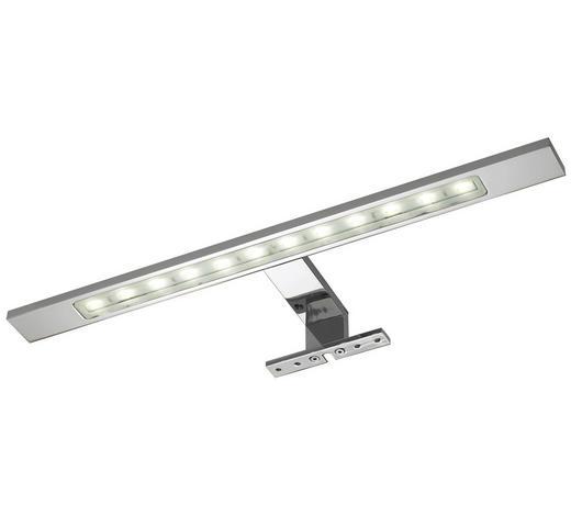 AUFBAULEUCHTE LED-Leuchtmittel  - Chromfarben, Basics, Metall (40/3,5/11cm) - Sadena