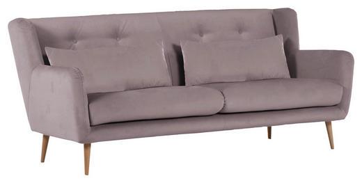 2,5-SITZER in Textil Braun - Braun/Naturfarben, Design, Textil (205/86/90cm) - Carryhome