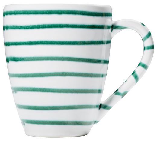 FRÜHSTÜCKSTASSE 300 ml - Grün, LIFESTYLE, Keramik (10/12/8cm) - Gmundner