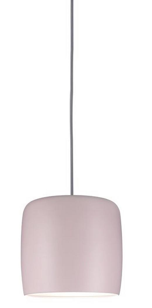 SCHIENENSYSTEM-LEUCHTENSCHIRM - Rosa, Design, Metall (25/23cm) - Paulmann