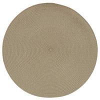 TISCHSET 38/38 cm Textil - Braun, Basics, Textil (38/38cm) - Homeware