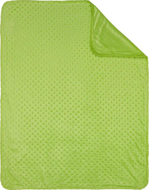 SCHMUSEDECKE - Grün, Basics, Textil (75/100cm) - My Baby Lou