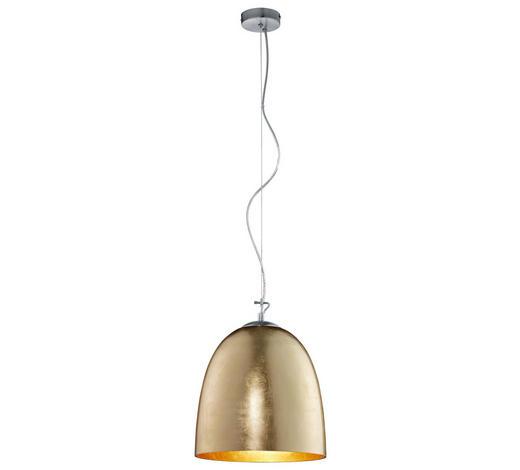 HÄNGELEUCHTE - Goldfarben, Basics, Metall (33/155cm)