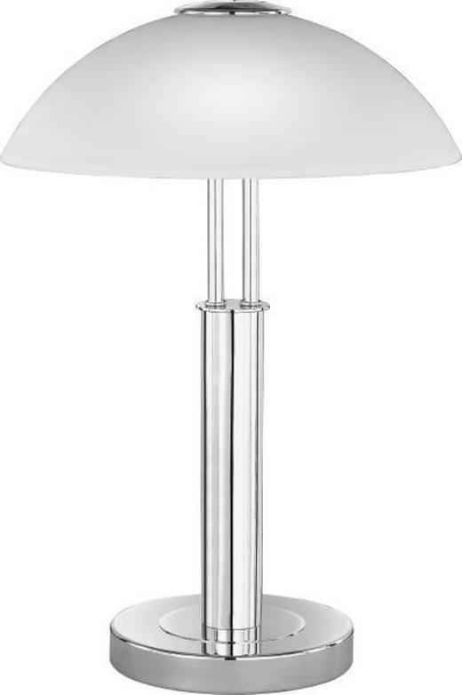 LAMPA STOLNÍ - barvy chromu, Konvenční, kov (42cm)