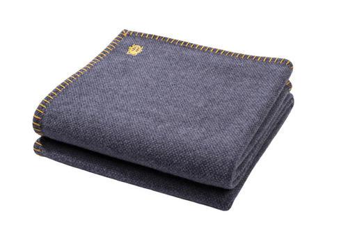WOHNDECKE 150/200 cm Anthrazit - Anthrazit, Basics, Textil (150/200cm) - Zoeppritz