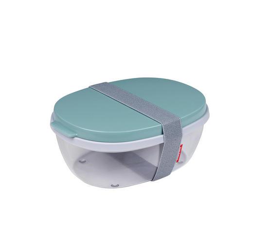 Salatbox 1,9 L  - Klar/Mintgrün, Kunststoff (22,5/17,5/9,5cm) - Mepal Rosti