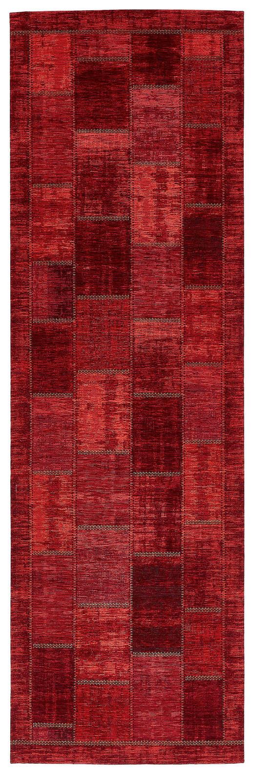 LÄUFER  68/220 cm  Dunkelrot - Dunkelrot, Basics, Textil (68/220cm) - Novel