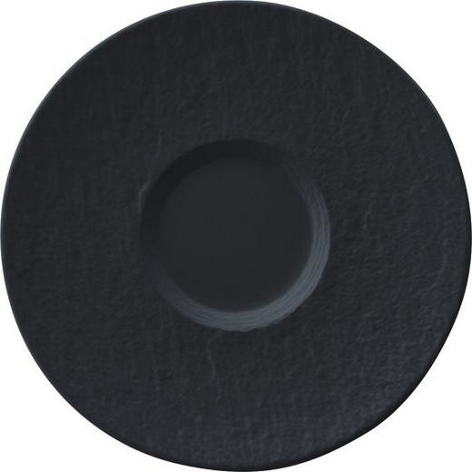 UNTERTASSE - Schwarz, Design, Keramik (17/17/2cm) - Villeroy & Boch