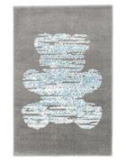 KINDERTEPPICH  80/150 cm  Weiß, Hellgrau, Hellblau   - Hellgrau/Weiß, Trend, Kunststoff (80/150cm)