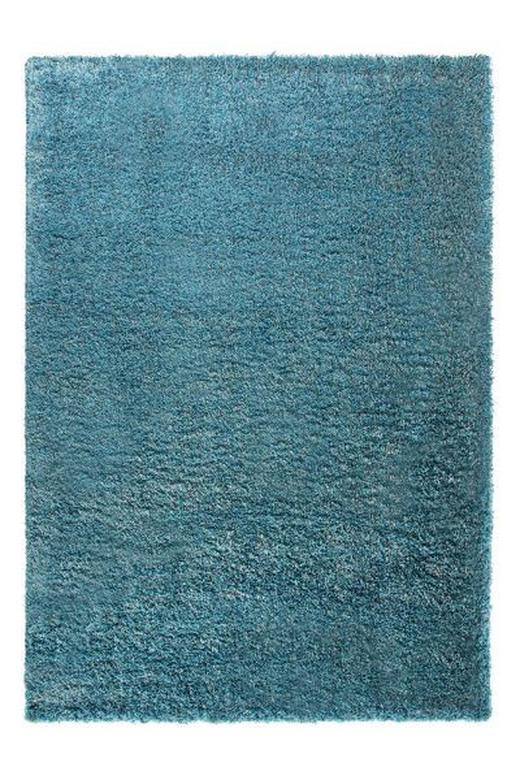 HOCHFLORTEPPICH  160/225 cm  gewebt  Türkis - Türkis, Textil (160/225cm) - ESPRIT