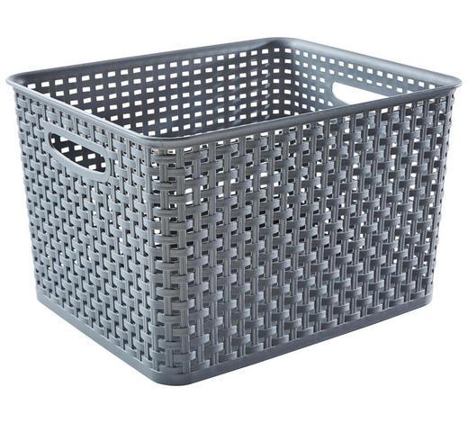 BOX  - Grau, Basics, Kunststoff (17l) - Plast 1