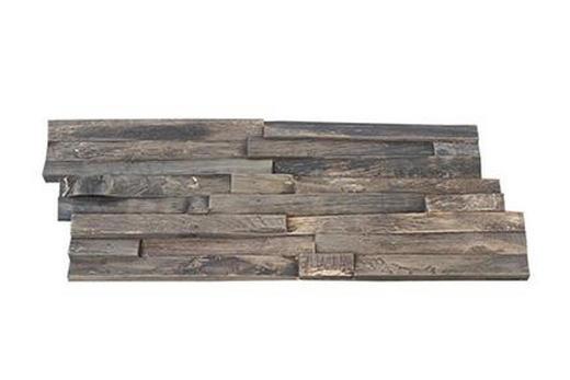 WANDVERKLEIDUNG - Teakfarben, Holz (50/20/1-2cm)