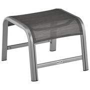 GARTENHOCKER - Silberfarben/Graphitfarben, Design, Textil/Metall (52/42/59cm) - Kettler HKS