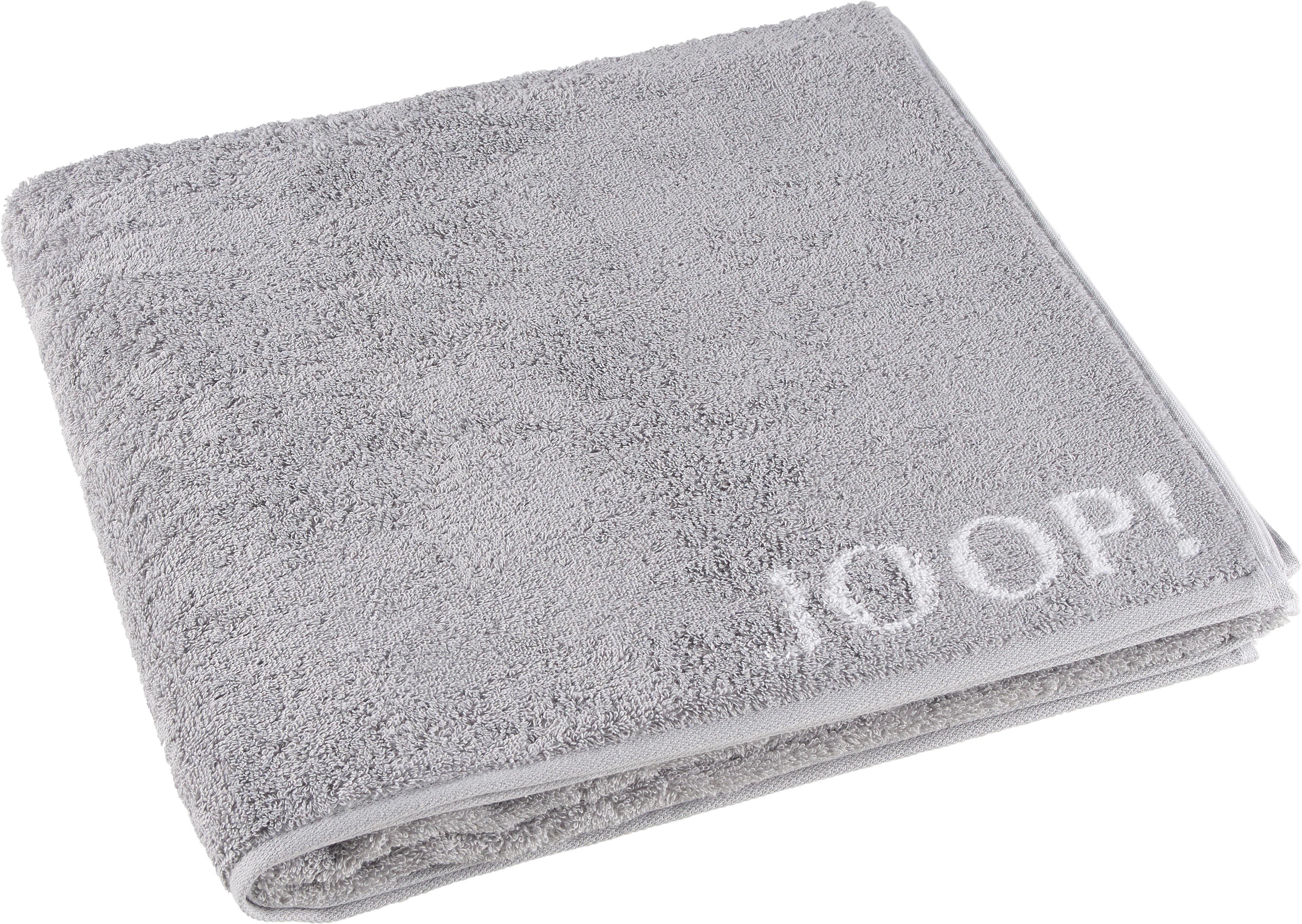 DUSCHTUCH 80/150 cm - Hellgrau, Basics, Textil (80/150cm) - JOOP!