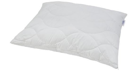 Kopfpolster Sina - Kochfest - Weiß, KONVENTIONELL, Textil (70/90cm) - Primatex