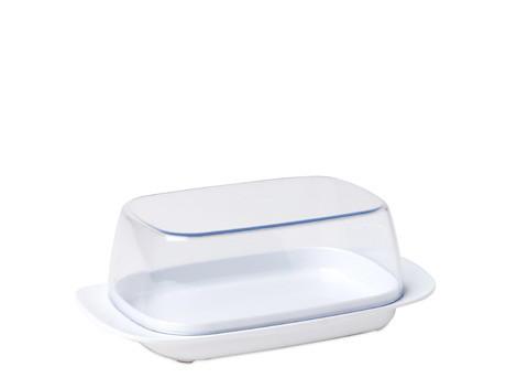 BUTTERDOSE Kunststoff - Weiß, Basics, Kunststoff (17/10/6cm) - MEPAL ROSTI