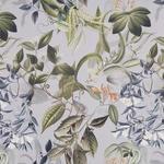 VORHANGSTOFF per lfm Verdunkelung  - Blau/Terra cotta, KONVENTIONELL, Textil (150cm) - Esposa