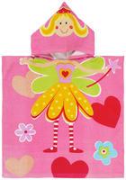 Poncho - Pink, Basics, Textil (60/120cm) - My Baby Lou