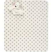 SCHMUSEDECKE 75/90 cm  - Taupe/Weiß, Basics, Textil (75/90cm) - My Baby Lou