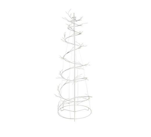 LED-DEKOLEUCHTE - Weiß, Design, Kunststoff/Metall (120cm) - Novel