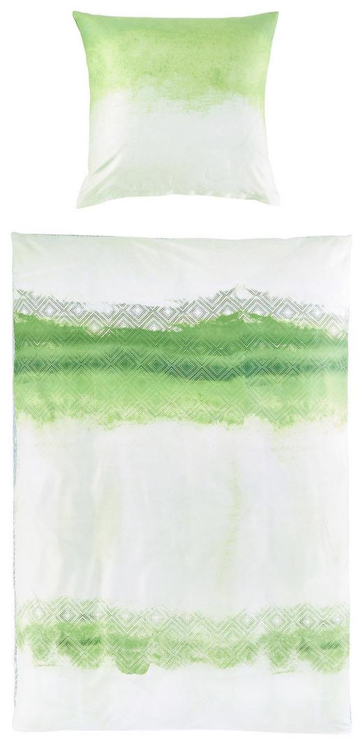 BETTWÄSCHE Satin Grün 200/200 cm - Grün, Design, Textil (200/200cm) - Novel