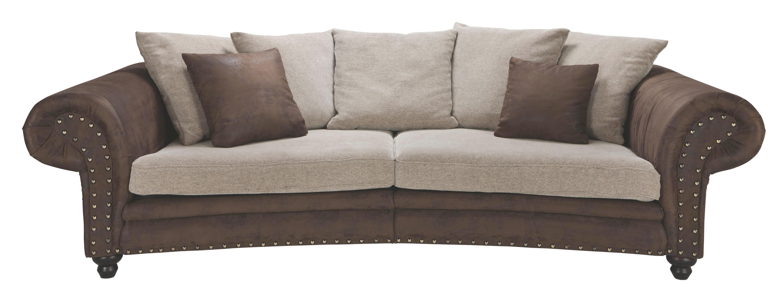 Sofa In Textil Braun Beige Online Kaufen Xxxlutz