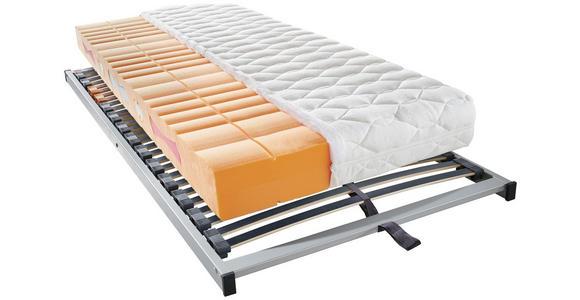 MATRATZENSET 140/200 cm  - Silberfarben, Basics, Holz (140/200cm) - Sleeptex