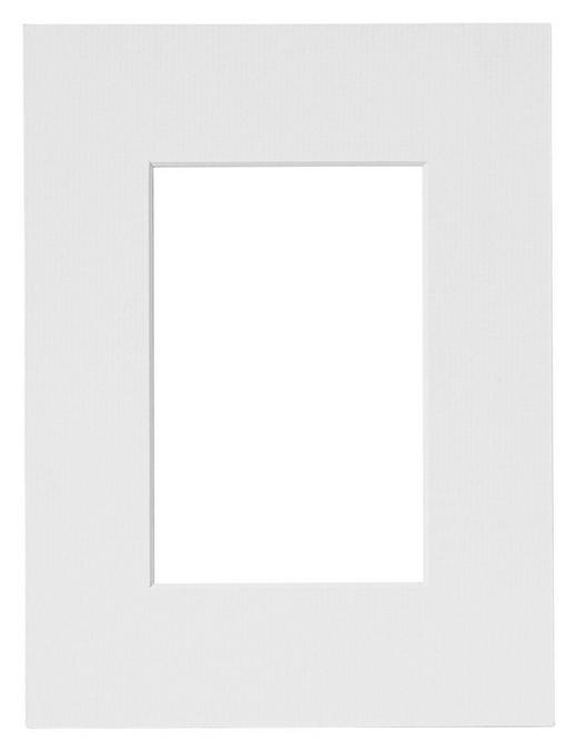 PASSEPARTOUT  Weiß - Weiß, Papier (18/24cm)