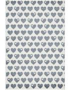 KINDERTEPPICH  120/180 cm  Silberfarben, Weiß - Silberfarben/Weiß, Basics, Textil (120/180cm)