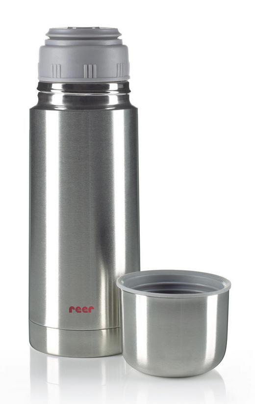 ISOLIERKANNE 0,350 L - Edelstahlfarben, Basics, Metall (23,7cm) - Reer