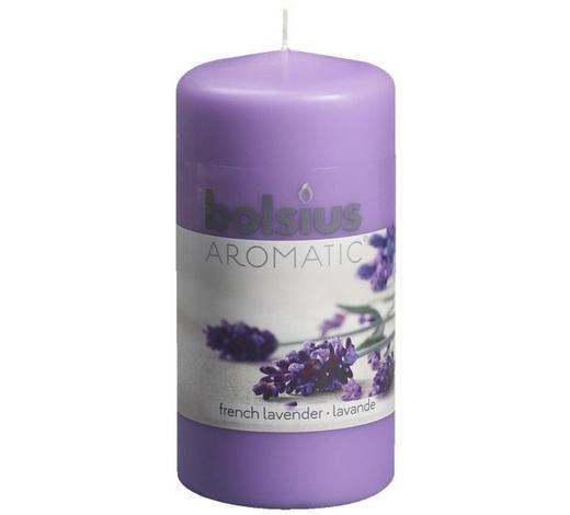DUFTKERZE Lavendel - Violett, Basics (12/6cm) - Bolsius