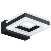 LED VENKOVNÍ SVÍTIDLO - bílá/tmavě šedá, Design, kov/umělá hmota (13/3,5/17,5cm)