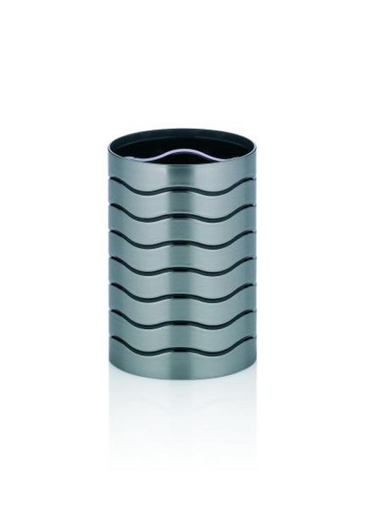 ZAHNPUTZBECHER - Anthrazit, Basics, Kunststoff (7,5/10,5cm)