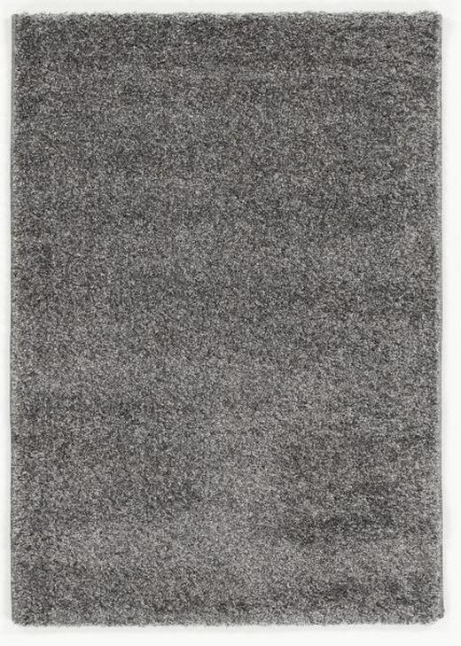 WEBTEPPICH  65/130 cm  Grau, Perlmutt - Perlmutt/Grau, Basics, Textil (65/130cm) - NOVEL