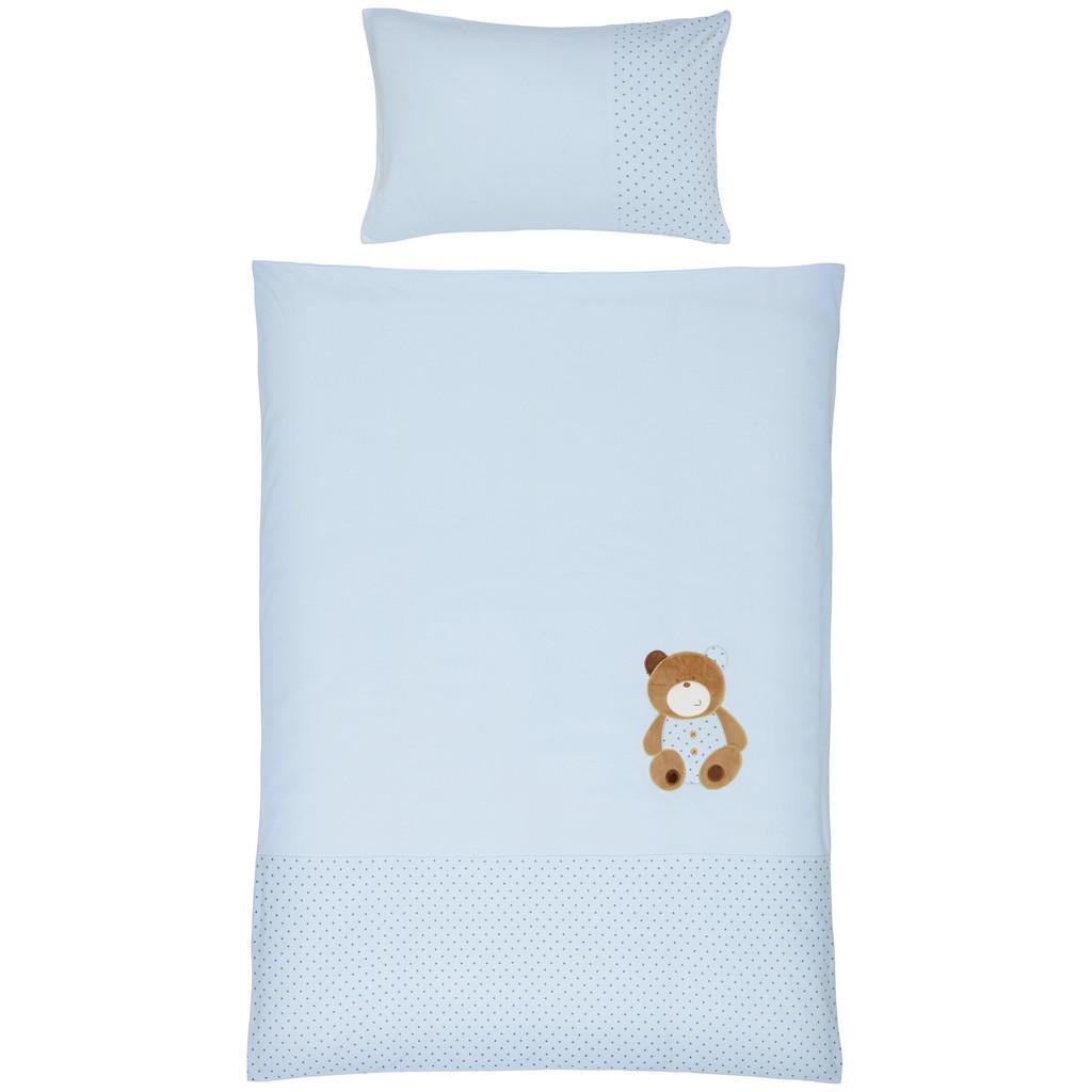 Patinio BABYBETTWÄSCHE, Blau   Kinderzimmer > Textilien für Kinder > Kinderbettwäsche   Textil   Patinio