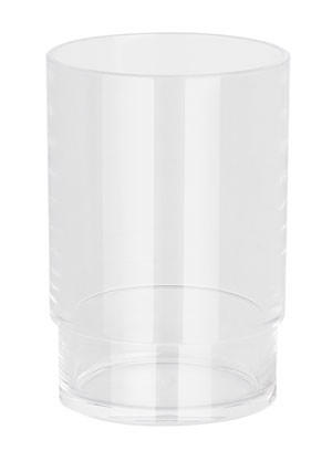 ZAHNPUTZBECHER - Klar, Basics, Kunststoff (6.5/9.5cm) - SPIRELLA