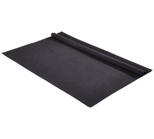 TISCHDECKE Textil Webstoff Anthrazit 100/100 cm - Anthrazit, Basics, Textil (100/100cm) - Bio:Vio