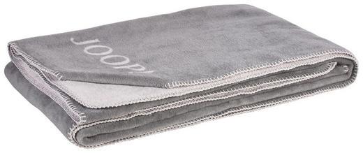 WOHNDECKE 150/200 cm Graphitfarben, Grau - Graphitfarben/Grau, Basics, Textil (150/200cm) - JOOP!