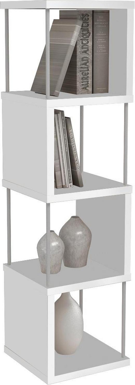 REGAL Weiß - Weiß, Design, Metall (33/126/33cm) - BOXXX